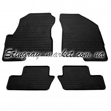 Комплект резиновых ковриков в салон автомобиля Jeep Compass І 2006-