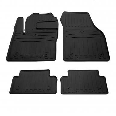 Комплект резиновых ковриков в салон автомобиля Jaguar E-Pace (special design 2017-)
