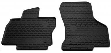 Передние автомобильные резиновые коврики Skoda Superb III 2015