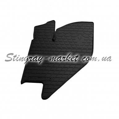 Водительский резиновый коврик Lada Kalina 2004-