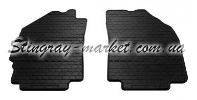 Передние автомобильные резиновые коврики Daewoo Matiz M300 2009-