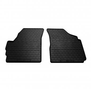 Передние автомобильные резиновые коврики Chevrolet Spark (design 2016)
