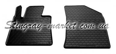Передние автомобильные резиновые коврики Peugeot 508 2010-