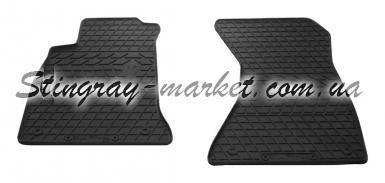 Передние автомобильные резиновые коврики Audi A4 (B9) 2015-