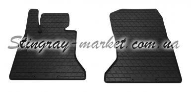 Передние автомобильные резиновые коврики BMW 5 F10/F11 2010-2016