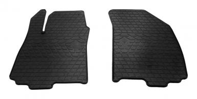Передние автомобильные резиновые коврики Chevrolet Aveo (T300) 11-