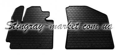 Передние автомобильные резиновые коврики Kia Soul 2013-