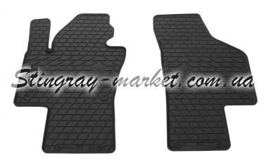 Передние автомобильные резиновые коврики Volkswagen Sharan 10-