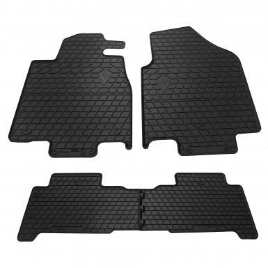 Комплект резиновых ковриков в салон автомобиля Acura MDX 07-13