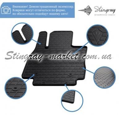 Передние автомобильные резиновые коврики Jeep Compass ІI 2016-