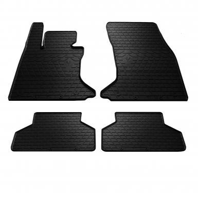 Комплект резиновых ковриков в салон автомобиля BMW 5 (E60/E61) 2003-2010