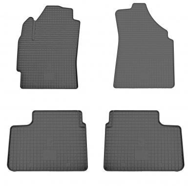 Комплект резиновых ковриков в салон автомобиля Chevrolet Spark