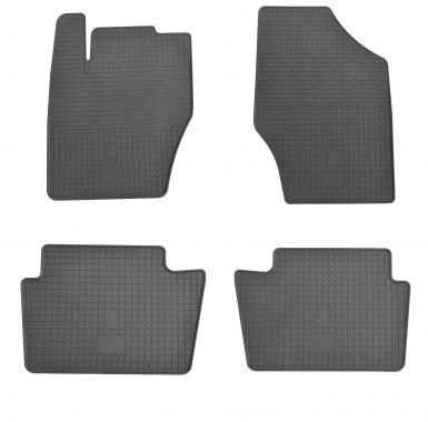 Комплект резиновых ковриков в салон автомобиля Citroen C4 2010-2015