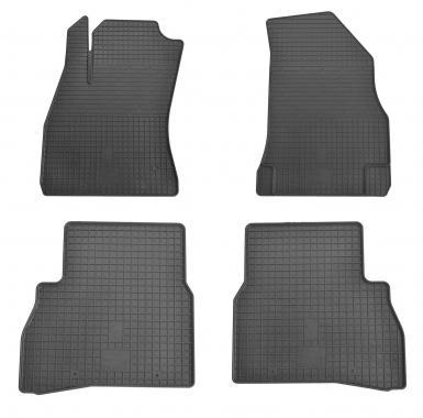 Комплект резиновых ковриков в салон автомобиля Fiat Doblo Cargo (263) 2010-