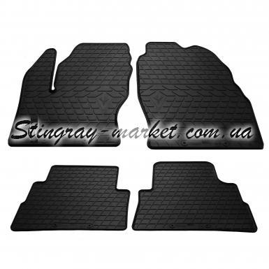 Комплект резиновых ковриков в салон автомобиля Ford Escape 2011-