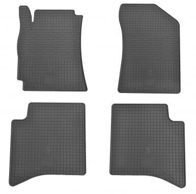 Комплект резиновых ковриков в салон автомобиля Geely MK
