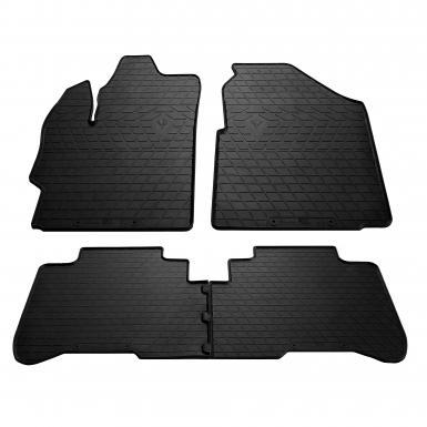 Комплект резиновых ковриков в салон автомобиля Great Wall Voleex C30 2011-