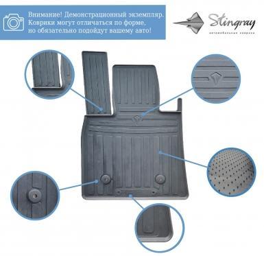 Водителький резиновый коврик JETOUR X70 (2019-...)
