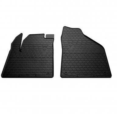 Передние автомобильные резиновые коврики Jeep Cherokee KL 2013-