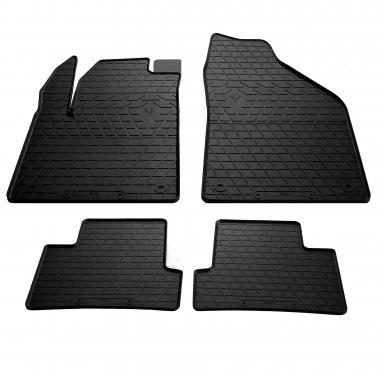 Комплект резиновых ковриков в салон автомобиля Jeep Cherokee KL 2013-