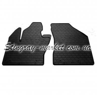 Передние автомобильные резиновые коврики Jeep Renegade 2014-