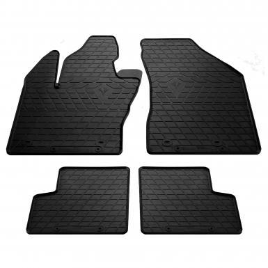 Комплект резиновых ковриков в салон автомобиля Jeep Renegade 2014-