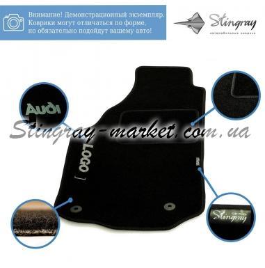 Комплект текстильных ковриков Stingray Ciak Black в салон автомобиля HONDA / CIVIK SD НD / 2006
