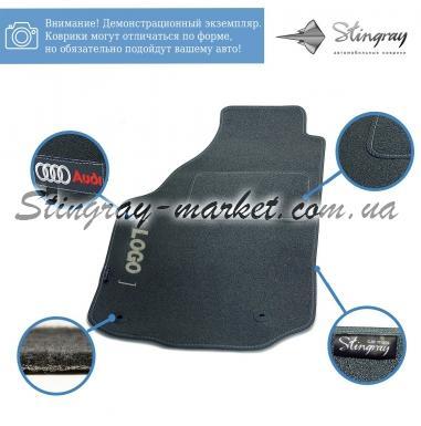 Комплект ворсовых ковриков Stingray Ciak Grey в салон автомобиля OPEL / ASTRA (J) АКП НВ / 2010