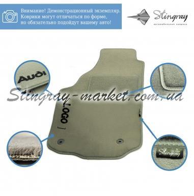 Комплект ворсовых ковриков Stingray Fortuna Grey в салон автомобиля BMW/ E-39 МКП SD 1996-2003