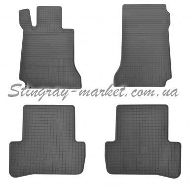 Комплект резиновых ковриков в салон автомобиля Mercedes Benz W204 C \ X204 GLK