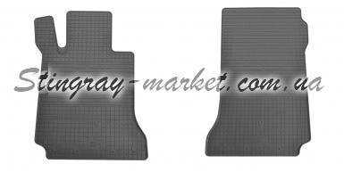Передние автомобильные резиновые коврики Mercedes Benz W204 C / X204 GLK