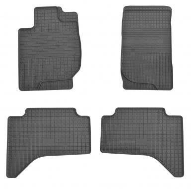 Комплект резиновых ковриков в салон автомобиля Mitsubishi L 200 2007-