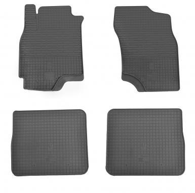 Комплект резиновых ковриков в салон автомобиля Mitsubishi Outlander 2003-2007