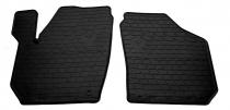 Передние автомобильные резиновые коврики Skoda Roomster 2006-2015