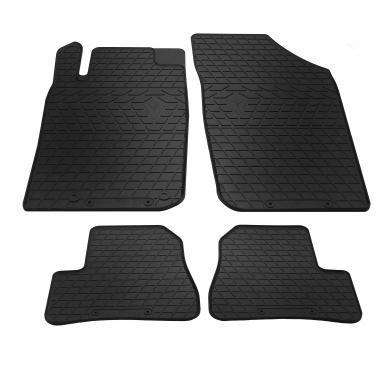 Комплект резиновых ковриков в салон автомобиля Peugeot 206
