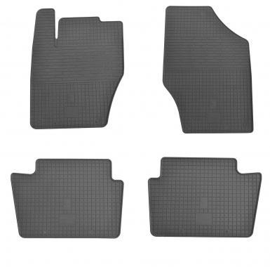 Комплект резиновых ковриков в салон автомобиля Peugeot 2008 2012-