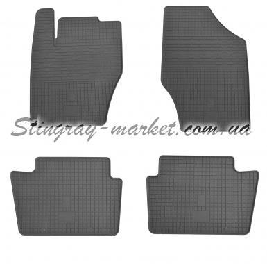 Комплект резиновых ковриков в салон автомобиля Peugeot 208 2013-
