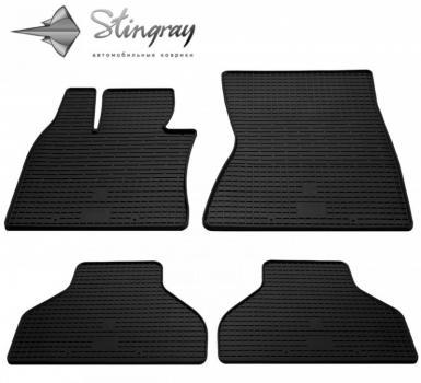 Комплект резиновых ковриков в салон автомобиля BMW X6 (E71) 2008-2014