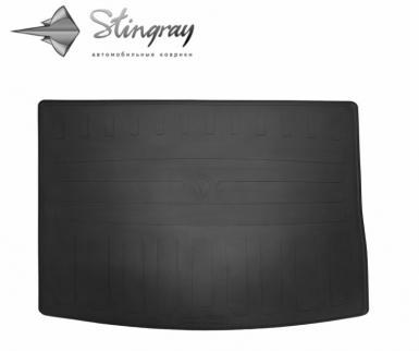 Резиновый коврик в багажник Skoda Karoq 2017-