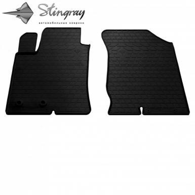 Передние автомобильные резиновые коврики Hyundai Sonata NF 2005-2011