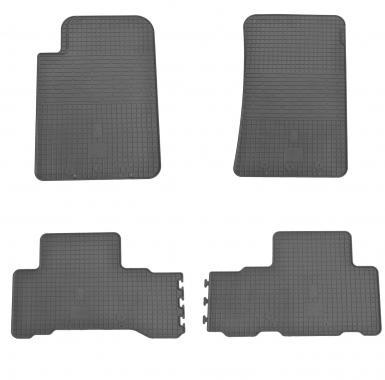 Комплект резиновых ковриков в салон автомобиля Ssang Yong Rexton W 2013-