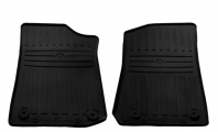 Передние автомобильные резиновые коврики Jeep Wrangler (JL) (3/5 doors) 2018-