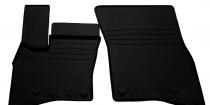Передние автомобильные резиновые коврики Land Rover Defender 110 (L663) 2019-