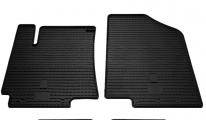 Передние автомобильные резиновые коврики Kia Rio III 2011-