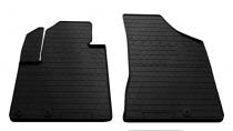 Передние автомобильные резиновые коврики Hyundai Santa Fe II (CM) (2010-2012) (design 2016)