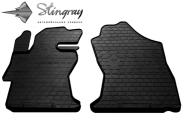 Передние автомобильные резиновые коврики Subaru XV 2017-
