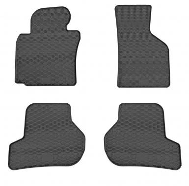 Комплект резиновых ковриков в салон автомобиля Seat Toledo III 2004-