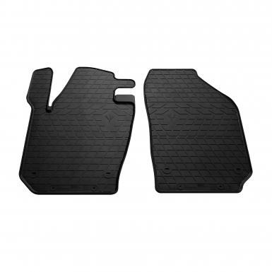 Передние автомобильные резиновые коврики Skoda Fabia III 2015-