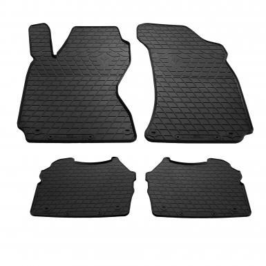 Комплект резиновых ковриков в салон автомобиля Skoda SuperB 2