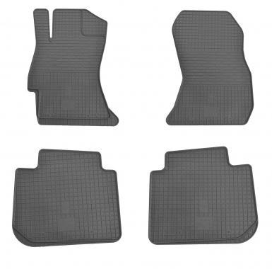 Комплект резиновых ковриков в салон автомобиля Subaru Legacy 2014-